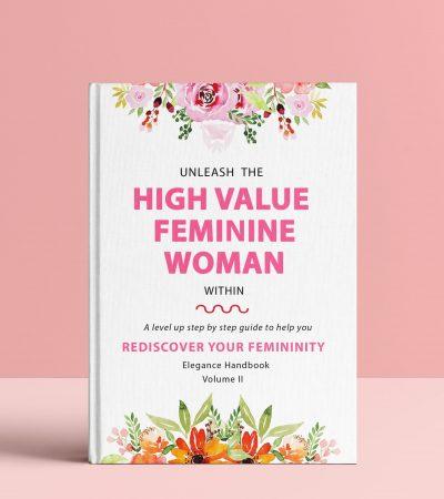 Hard Cover Femininity Book Elegance Handbook Vol II